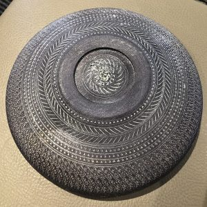 Signature Textured Bowl Base by Jeff Hornung