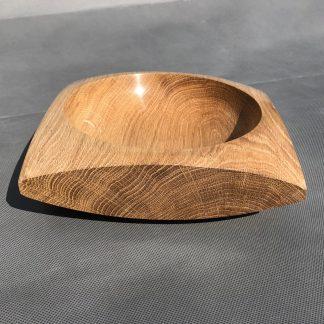 English Oak Squared Bowl