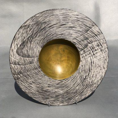 Silver Spirals Bowl